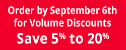 Customer Service Week Volume Discount